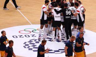 منتخب مصر لليد يواصل تألقه ويحقق الفوز على السويد image