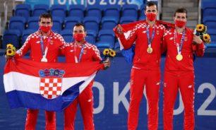 الثنائي الكرواتي ميكيتش-بافيتش يحرز ذهبية زوجي الرجال image