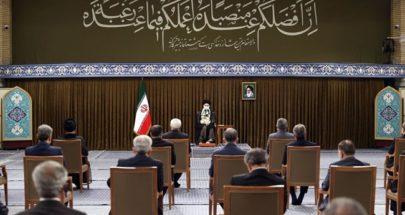 خامنئي لحكومة روحاني: يجب أن لا نرهن برامجنا الداخلية بالغرب أبداً image