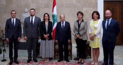 """وفد """"الصداقة اللبنانية– الفرنسية"""" يجول على المسؤولين.. لافارد: ندعم الإصلاحات image"""