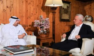 فرنجيه يستقبل السفير القطري في زيارة وداعية image