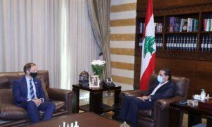 الحريري استقبل السفير البريطاني الجديد في زيارة بروتوكولية image