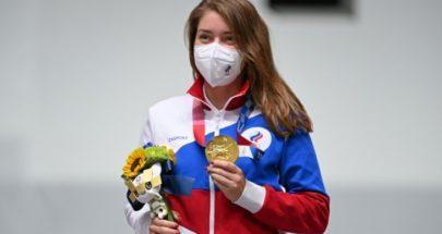 اتساراشكينا تمنح روسية أول ذهبية في طوكيو 2020 image