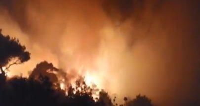 بالفيديو: أكروم تحترق... والأهالي يناشدون image