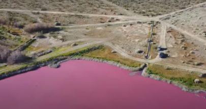 """""""البحيرة الوردية"""" تثير القلق في الأرجنتين image"""