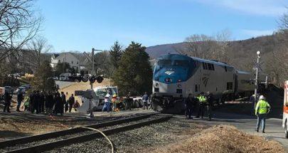 إصابة 23 شخصا إثر تصادم قطارين في بوسطن الأميركية image