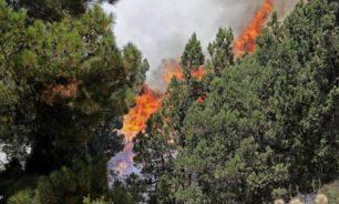 """""""من الصعب الانتهاء من عمليات الإطفاء والتبريد""""... الحرائق مستمرة في عكار image"""