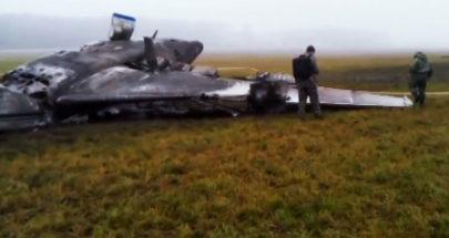 المشاهد الأولى لكارثة الطيران في روسيا image