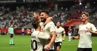 جيرو يفتتح سجل الأهداف مع ميلان وفوز يوفنتوس image