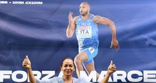 الإيطالي مارسيل يفوز بذهبية سباق 100 متر للرجال بأولمبياد طوكيو image