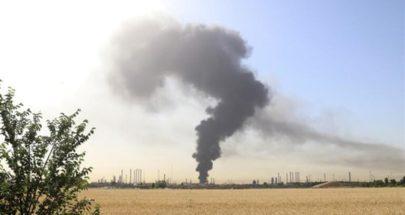حريق في مصنع بتروكيماويات في إيران image
