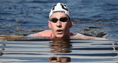 الألماني فيلبروك يفوز بذهبية ماراثون السباحة image