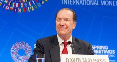 رئيس البنك الدولي: للمباشرة بالتدقيق الجنائي والقيام بالإصلاحات جذرية image