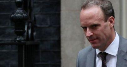 وزير الخارجية البريطاني يتوعد إيران image