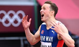 أولمبياد طوكيو.. فارهولم يحطم الرقم العالمي ليفوز بذهبية سباق 400 متر حواجز image