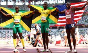 الجامايكي بارتشمنت يفاجئ هولواي ويحرز ذهبية 110 أمتار image