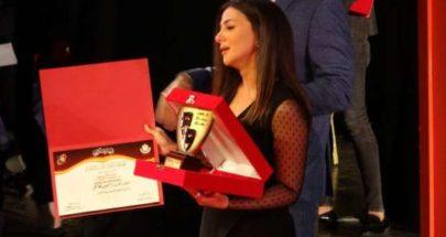 بكاء دنيا سمير غانم في تكريم والديها بالمسرح القومي image