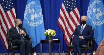 بايدن: لتطوير نظام القانون الدولي بشكل مشترك image