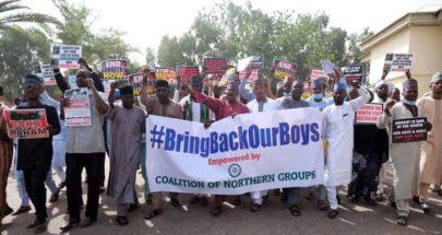 الإفراج عن 10 طلاب كانوا مخطوفين في نيجيريا image