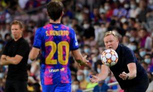 برشلونة يدرس إقالة كومان ورئيس النادي يمتنع... image