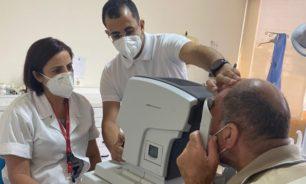 مساعدات مجانية لمرضى العيون بالتعاون مع كاريتاس image