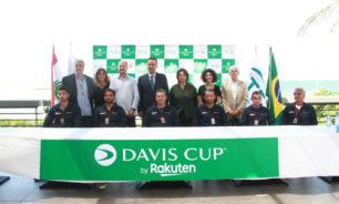 """العد التنازلي لمباراة لبنان والبرازيل في كأس """"ديفيس"""" image"""