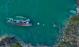 مقتل 10 أشخاص جراء انقلاب سفينة ركاب بجنوب غرب الصين image