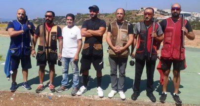 ايلي بجاني بطل المرحلة الخامسة من رماية التراب لفئة الممتاز image