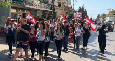 وصول المسيرة الإيمانية إلى مزار القديس شربل image