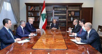 الرئيس عون ترأس اجتماعا خُصّص للبحث في المفاوضات مع صندوق النقد image