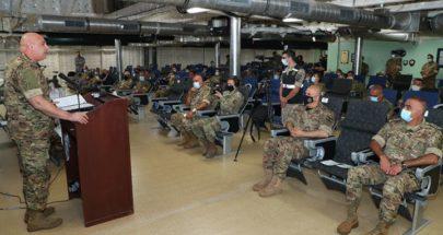 عون في قاعدة بيروت البحرية... إليكم التفاصيل image