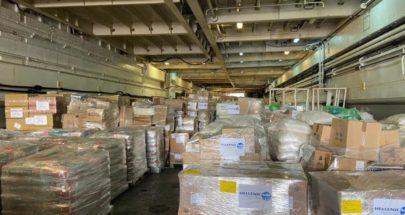 إبحار سفينة مُساعدات من اليونان الى لبنان image