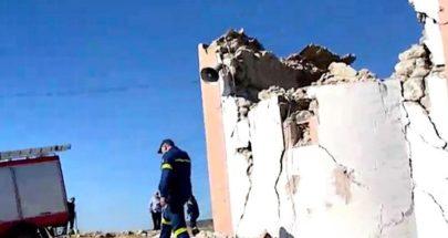 مقتل شخص إثر انهيار قبة كنيسة بسبب زلزال جزيرة كريت image