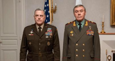 قائدا الجيشين الروسي والأميركي يجتمعان في هلسنكي لست ساعات image