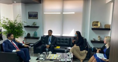 وزير الاقتصاد والتجارة يجتمع مع وفد من البنك الدولي image