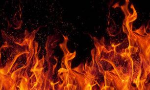 حريق كبير في مخيم للمهاجرين في جزيرة ساموس اليونانية image