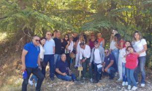 جامعة آل كرم غرست شجرة العائلة في محمية أرز الباروك image