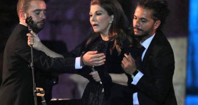 الفستان الأسود سبب وعكة ماجدة الرومي في مهرجان جرش! image