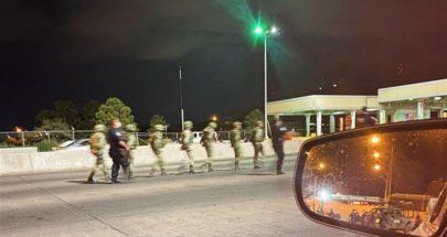 حرس الحدود الأميركي يحتجز 14 جنديا مكسيكيا لفترة وجيزة image