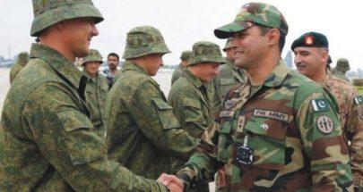 تعاون عسكري بين روسيا وباكستان image