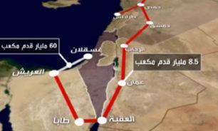 خط الغاز بين العريش والعقبة ملك شركة اسرائيلية! image