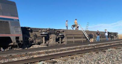 جرحى جراء خروج قطار عن سكته في ولاية مونتانا الأميركية image