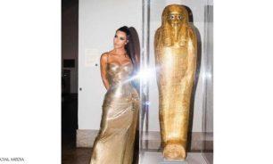 هكذا ساعدت كيم كارداشيان في استعادة مومياء مصرية مسروقة image
