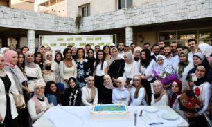 """حفل اختتام مشروع """"Hope"""" على مسرح ثانوية روضة الفيحاء في طرابلس image"""