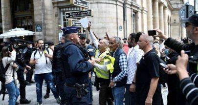 فرنسا.. أكثر من 40 ألف متظاهر ضد الشهادة الصحية image