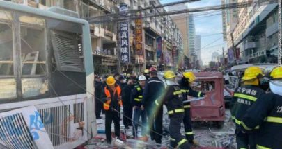 3 قتلى على الأقل بانفجار غاز في الصين image