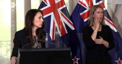 رغم وقوع زلزال.. رئيسة وزراء نيوزيلندا تواصل مؤتمرها الصحفي image
