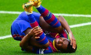 برشلونة يعلن إصابة نجمه فاتي في الركبة image