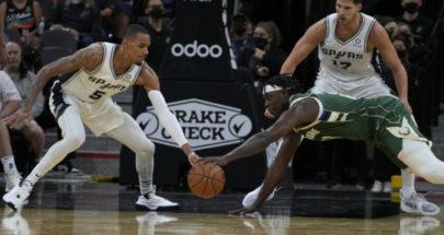 NBA: ميلووكي باكس يعود الى سكة الانتصارات بفوز على سان انتونيو image