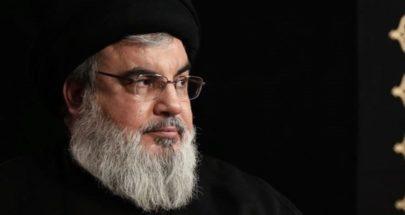 السيد نصر الله لرئيس حزب القوات: لا تخطئوا الحساب واقعدوا عاقلين وتأدبوا image